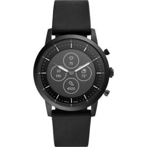 Fossil Collider Hybrid HR Smartwatch FTW7010 Zwart