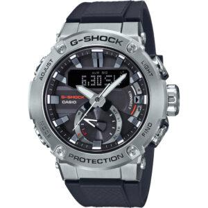 Casio G-Shock G-Steel GST-B200-1AER Zilver/Blauw