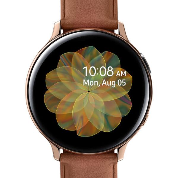 Samsung Galaxy Watch Active2 Goud / Bruin 44 mm RVS