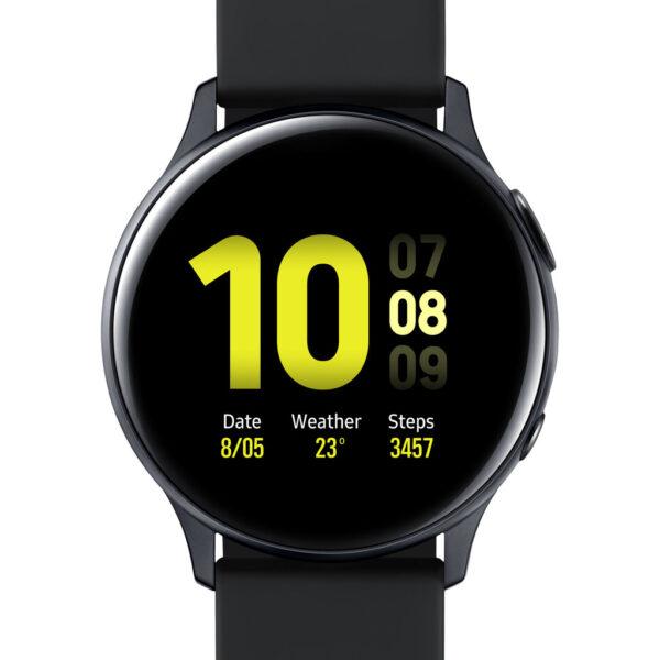 Samsung Galaxy Watch Active2 Zwart 40 mm Aluminium