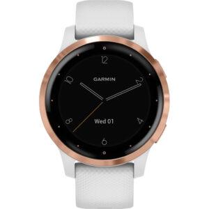 Garmin Vivoactive 4S Rosé Goud/Wit 40 mm
