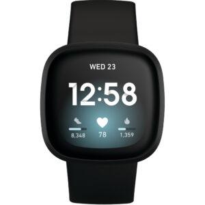 Fitbit Versa 3 Zwart