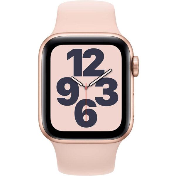 Apple Watch SE 40mm Roségoud Aluminium Roze Sportband