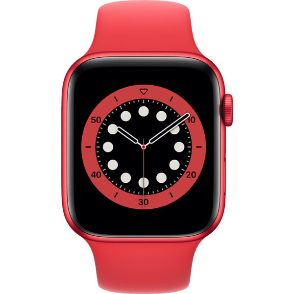 Apple Watch Series 6 44mm RED Aluminium RED Sportband
