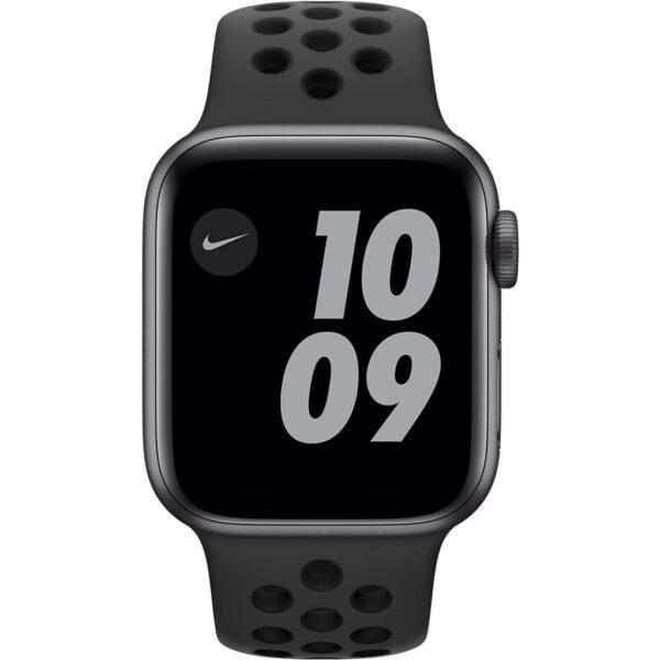 Apple Watch Nike Series 6 40mm Space Gray Aluminium Zwarte Sportband